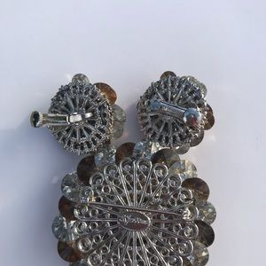 Vendome Jewelry - Vintage Vendome Brooch and Clip-on Earrings!